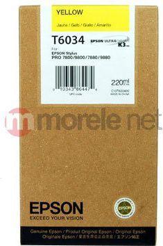 Epson C13T603400 zółty 1