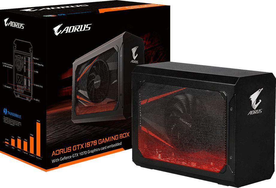 Karta graficzna Gigabyte GeForce GTX 1070 AORUS Gaming Box 8GB GDDR5 (256 Bit) 2xDVI-D, HDMI, DisplayPort, BOX (GV-N1070IXEB-8GD) 1