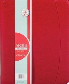 Antra Teczka A4 709 czerwona na suwak (233362) 1
