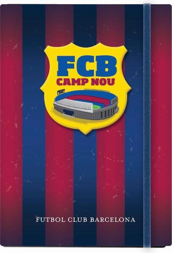 Eurocom Notes A6 na gumkę FC Barcelona (210798) 1