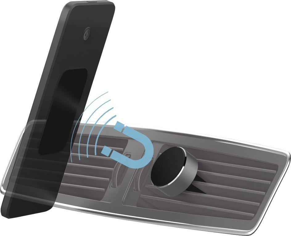 Uchwyt Hama magnetyczny do samochodu Magnet Alu 001737650000  1