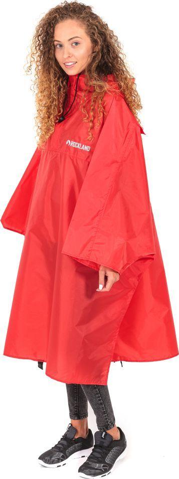 Rockland Peleryna przeciwdeszczowa Poncho Storm czerwona (122) 1