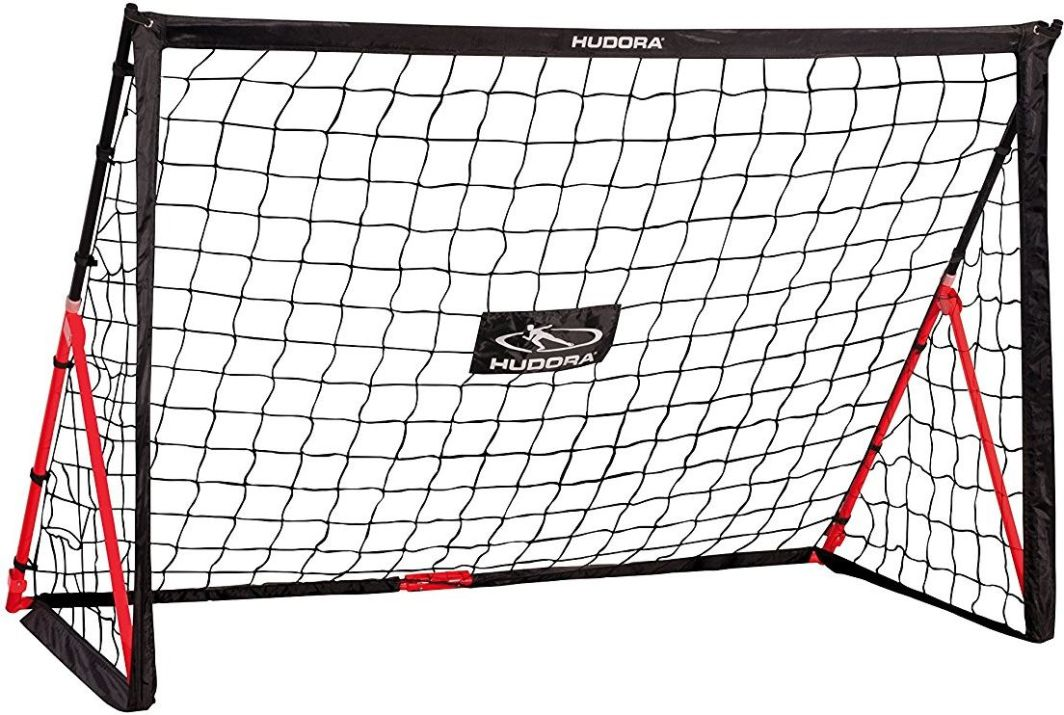 Hudora Bramka piłkarska składana Fold Up 180x120 cm 1