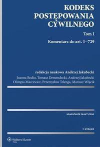 Kodeks postępowania cywilnego. Komentarz T.1-2 w.7 (234053) 1