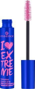 Essence I Love Extreme Volume Mascara Waterproof Wodoodporna pogrubiająca maskara 12ml 1