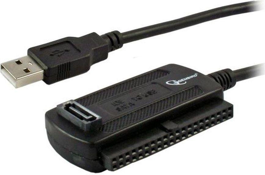 Kieszeń Gembird Adapter USB 2.0 do IDE/SATA Combo 2.5'' i 3.5'' z zasilaczem AUSI01 1