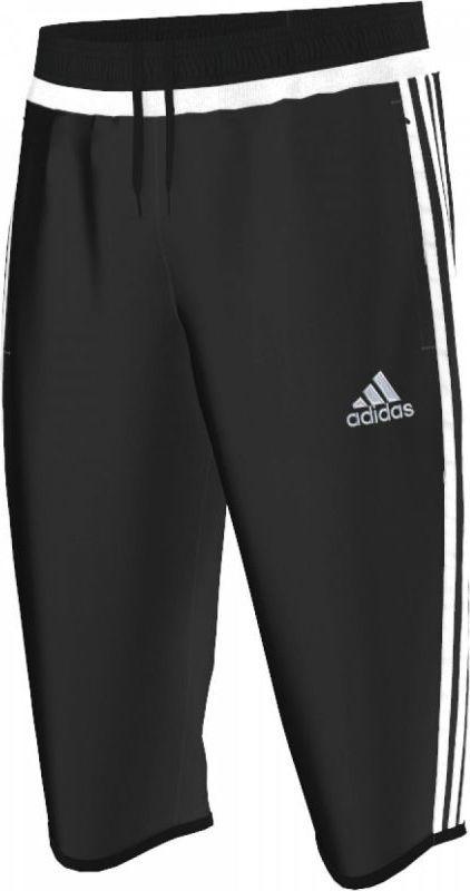 sprzedaż uk duża obniżka 50% zniżki Adidas Spodnie treningowe męskie 3/4 Tiro 15 czarne r. M (M64027) ID  produktu: 1437867