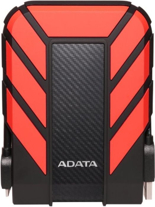 Dysk zewnętrzny ADATA HDD DashDrive Durable HD710 1 TB Czerwono-czarny (AHD710P-1TU31-CRD) 1