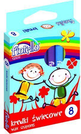 Fiorello Kredki świecowe (237458) 1