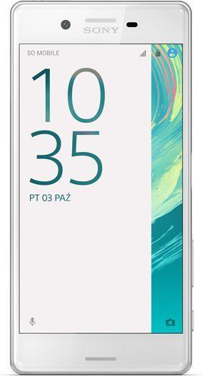 Smartfon Sony Xperia X 32 GB Biały  (1302-9402) 1