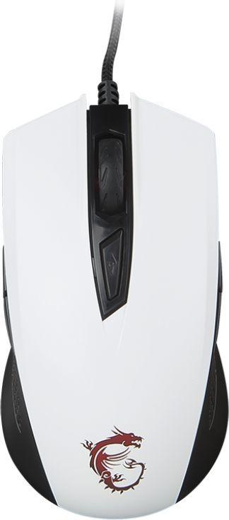Mysz MSI Clutch GM 40 Biały 1