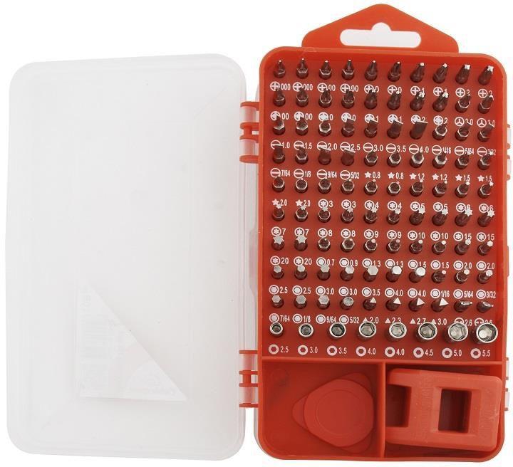 Gembird zestaw precyzyjnych bitów z akcesoriami 108 elementów (TK-SD-07) 1