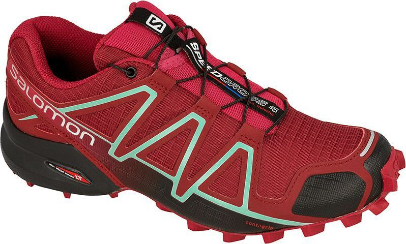 Salomon Buty damskie Speedcross 4 Tibetan RedSangriaBlack