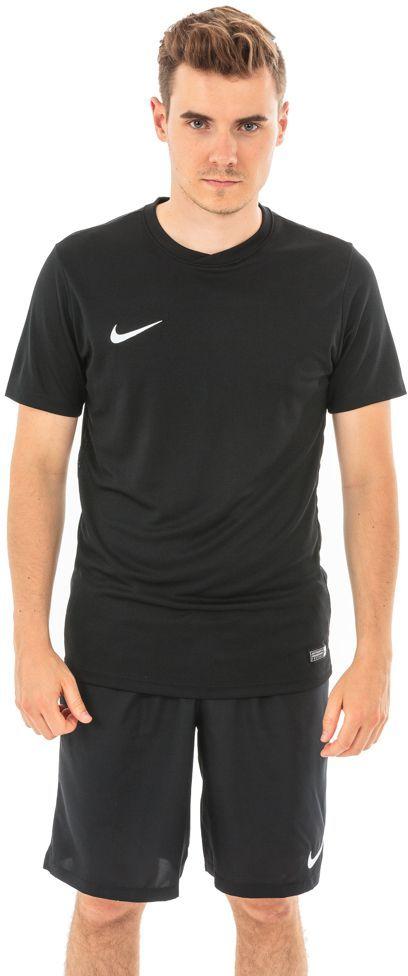 5e5097a315ef82 Nike Koszulka piłkarska Park VI M czarna r. L (725891-010) w Sklep-presto.pl