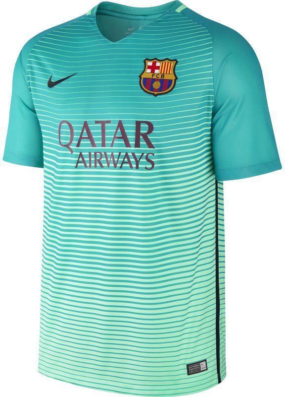 a8be4ddec Nike Koszulka piłkarska Dry FC Barcelona Stadium Jersey M zielona r. L  (776854-390) w Sklep-presto.pl