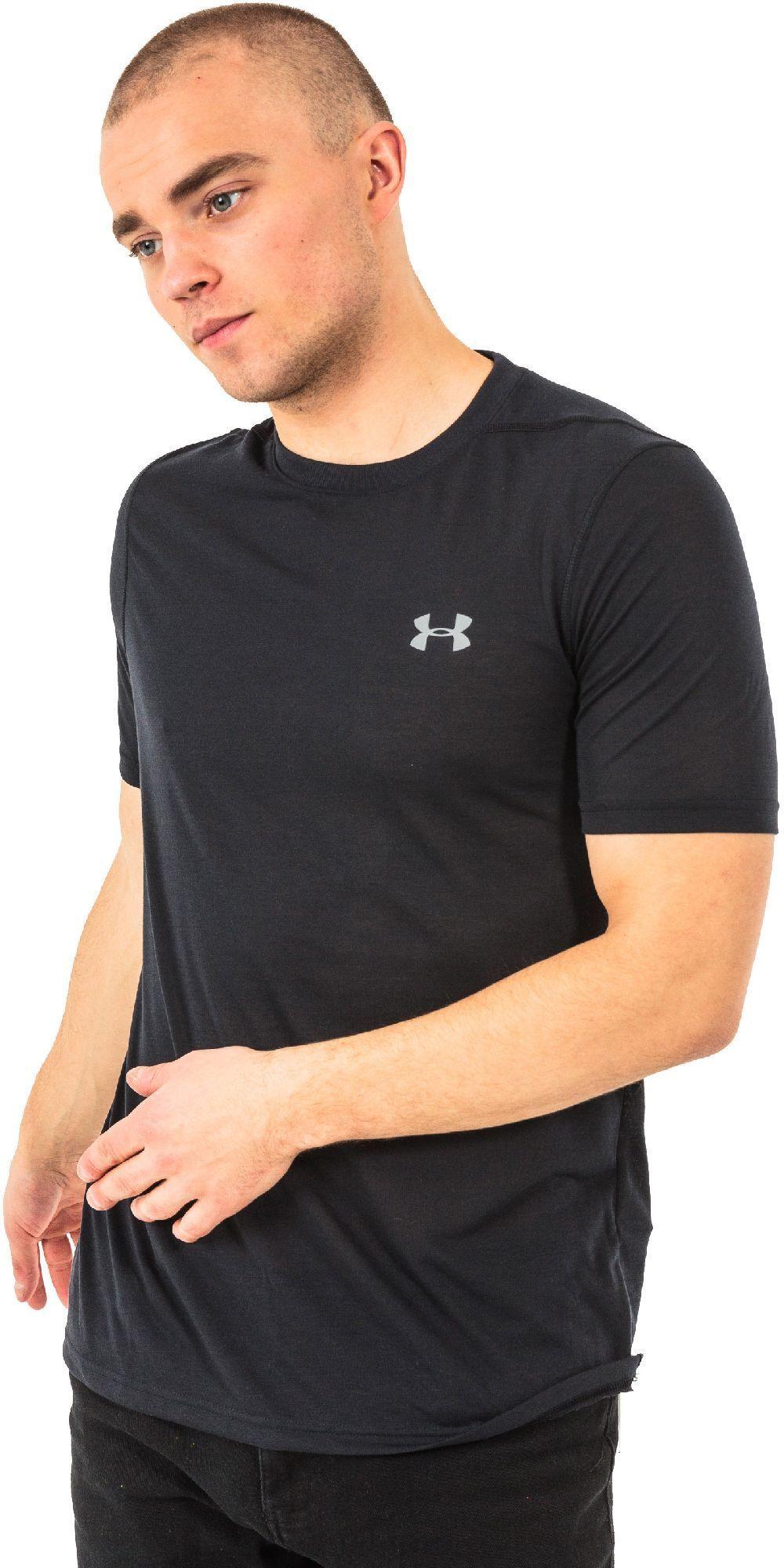 Under Armour Koszulka męska Threadborne T-Shirt Black/Graphite r. L (1289588001) 1