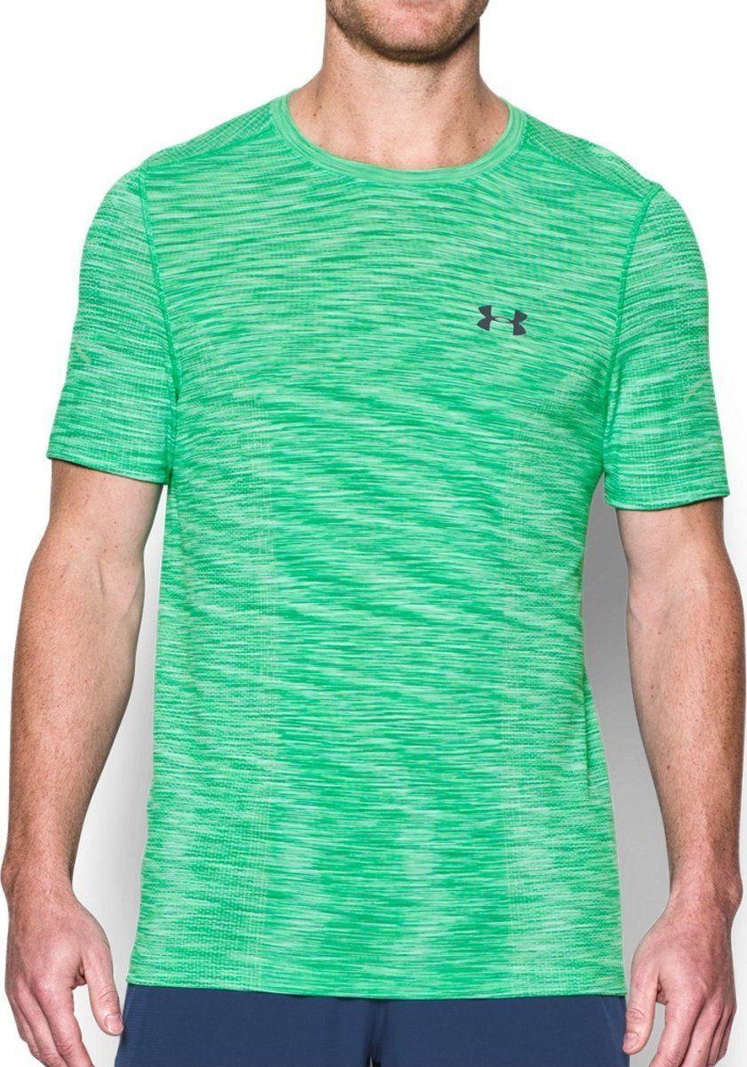 6af0d6c0a3f95b Under Armour Koszulka męska Threadborne Seamless T-Shirt Vapor Green r. L  (1289596299) w Sklep-presto.pl
