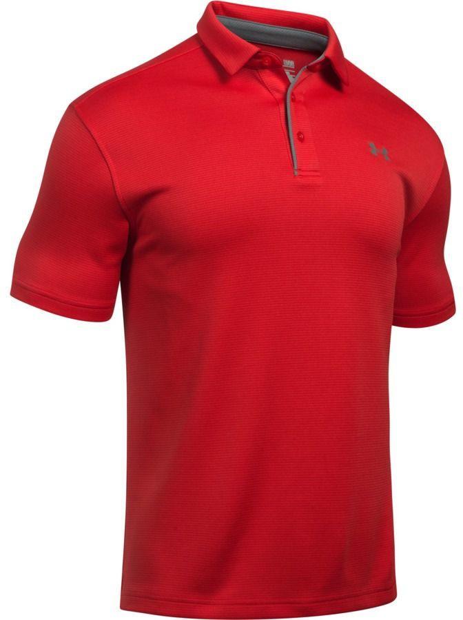 Under Armour Koszulka męska Tech Polo czerwona r. S (1290140-600) 1