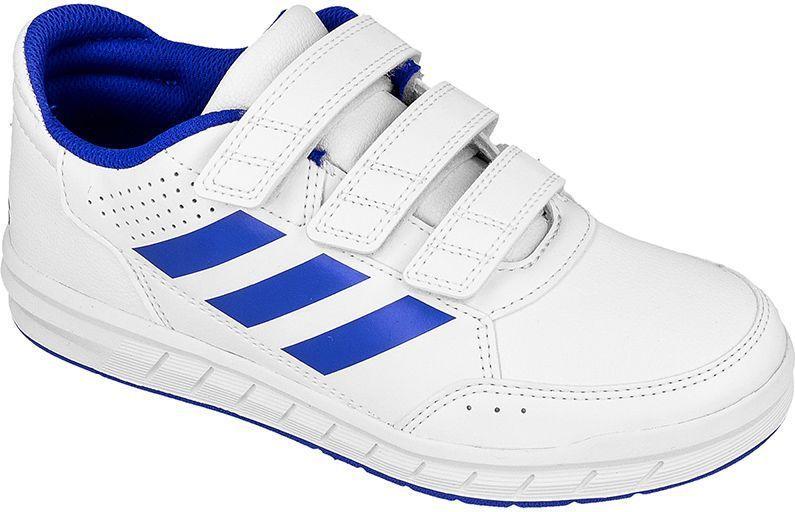 Adidas Buty dziecięce AltaSport CF Jr biało niebieskie r. 28 (BA9525) ID produktu: 1459250