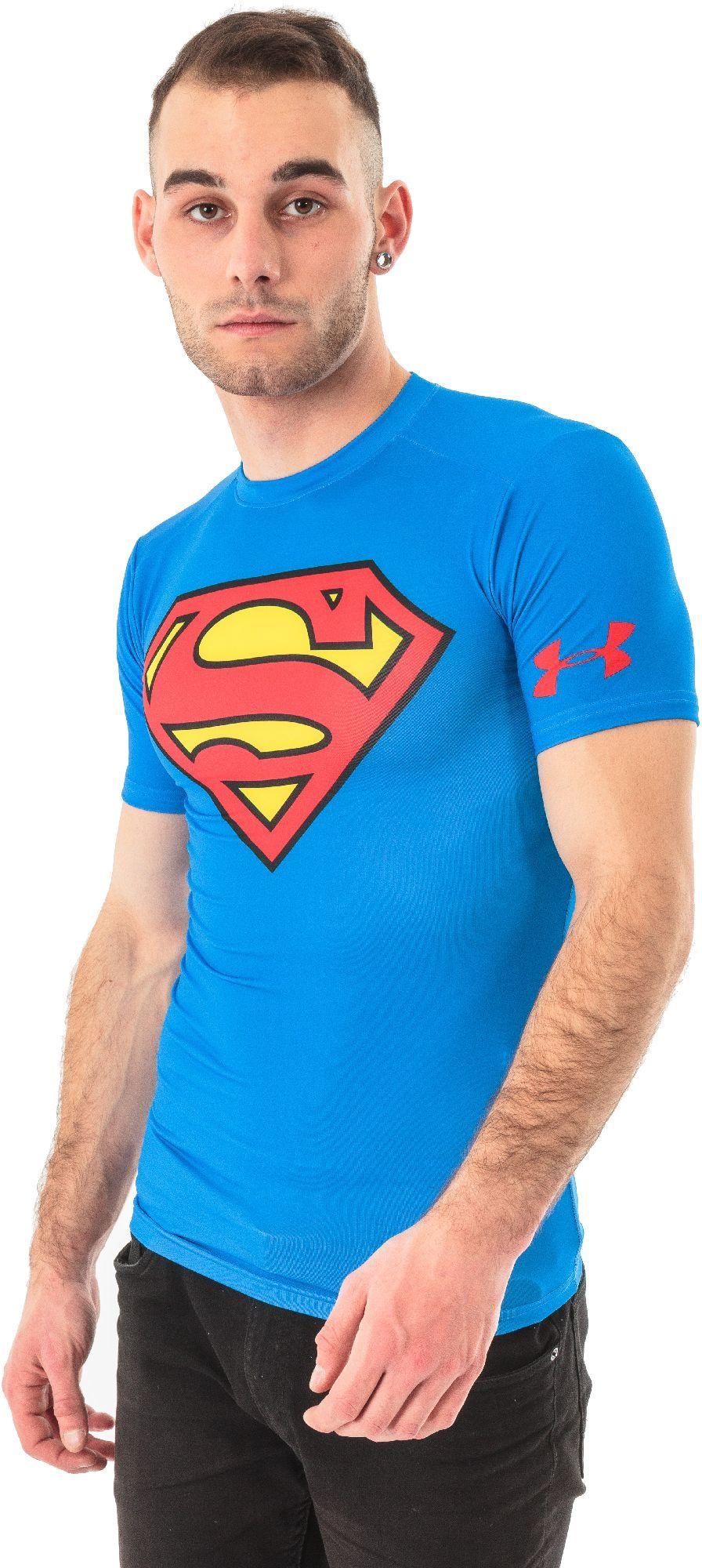 całkiem tania ujęcia stóp całkowicie stylowy Under Armour Koszulka męska Compression Alter Ego Superman M r. M  (1244399-401*M) ID produktu: 1459550