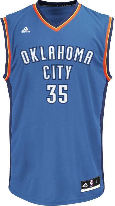 Adidas Koszulka Koszykarska Replica Oklahoma City Thunder Kevin Durant M Niebieska r. XXL (L71437*XXL) ID produktu: 1461177