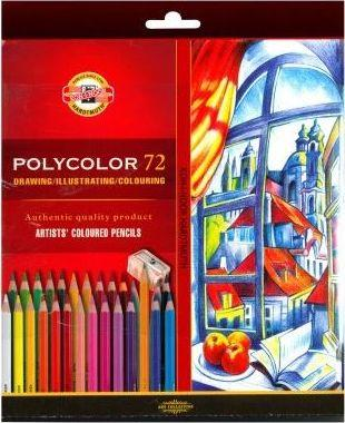 Koh-I-Noor Kredki Polycolor 72 kolory (249384) 1