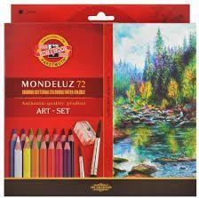 Koh-I-Noor Kredki Mondeluz 72 kolory + pędzel (215182) 1