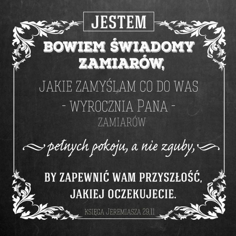 Szaron Podstawka korkowa - Jestem Bowiem tablica - 225877 1