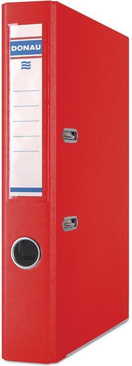 Segregator Donau Premium dźwigniowy A4 50mm czerwony (3955001PL-04) 1