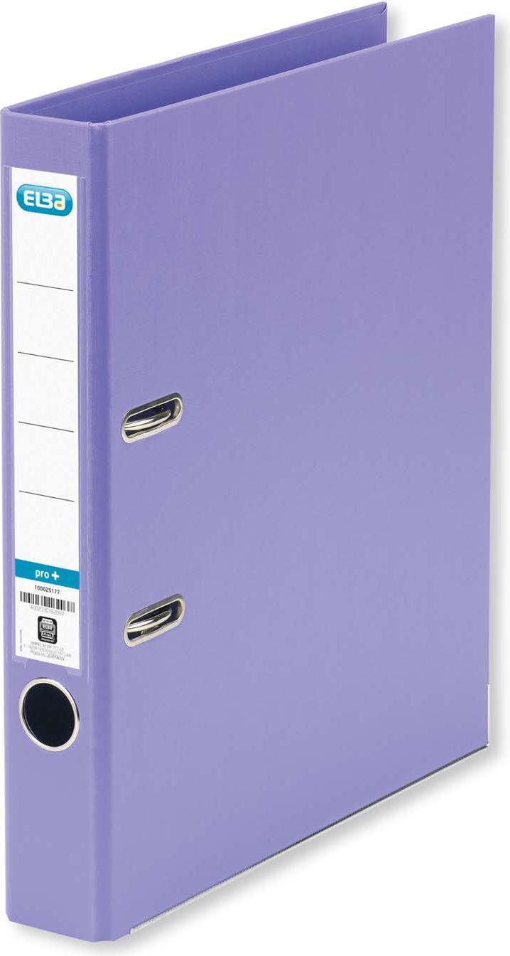Segregator Elba Pro+ dźwigniowy A4 50mm fioletowy (100202100) 1