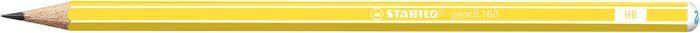 Stabilo Ołówek Pencil 160 Hb Yellow (160/05-HB) 1