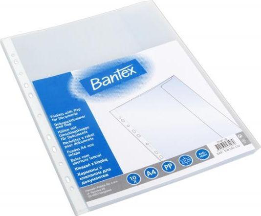 Bantex Koszulki z klapą A4 110mic. 10szt. (100550132) 1