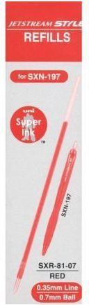 Uni Mitsubishi Pencil Wkład do długopisu SXR-81/71 (138613) 1