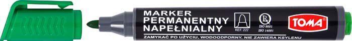 Toma Marker permanentny (TO-222ZIEL) 1