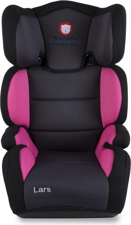 Fotelik samochodowy Lionelo Fotelik 15-36 kg Lars Plus pink 1