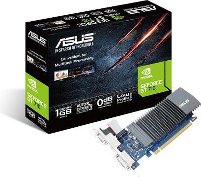 Karta graficzna Asus GeForce GT 710 1GB GDDR5 (GT710-SL-1GD5-BRK) 1