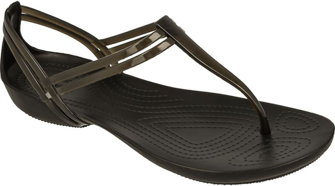 Crocs Sandały Isabella T strap W Czarne r. 37 38 (202467) ID produktu: 1480569