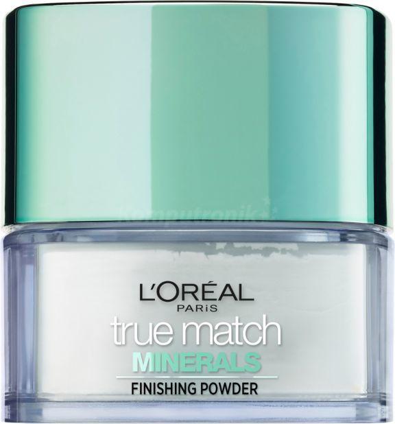 L'Oreal Paris True Match Minerals Mattifying Powder puder mineralny Translucent 10g 1