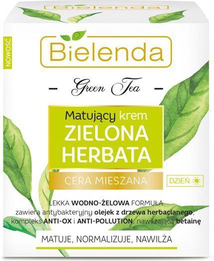 Bielenda Green Tea matujący krem dla cery mieszanej na dzień 50ml 1