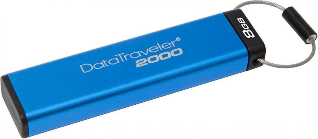 Pendrive Kingston szyfrowany 8GB (DT2000/8GB) 1