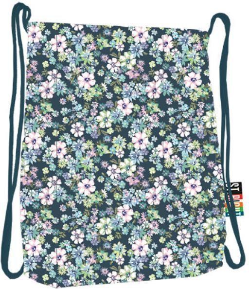 St. Majewski Plecak na sznurkach Stright SO-11 Flowers Green 1
