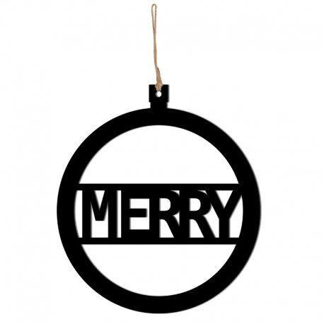 DekoSign Świąteczna Zawieszka Merry (MERRY1-1) 1