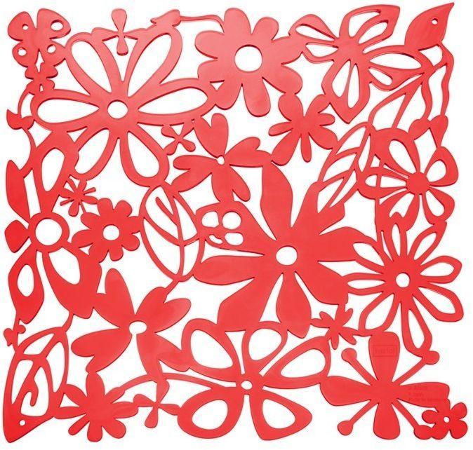 Koziol Panel dekoracyjny Alice czerwony 4 szt. (KZ-2035536) 1