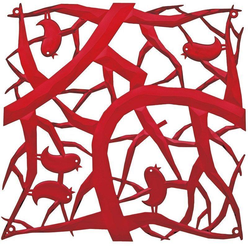 Koziol Panel dekoracyjny [pi:p] czerwony 4 szt. (KZ-2042536) 1