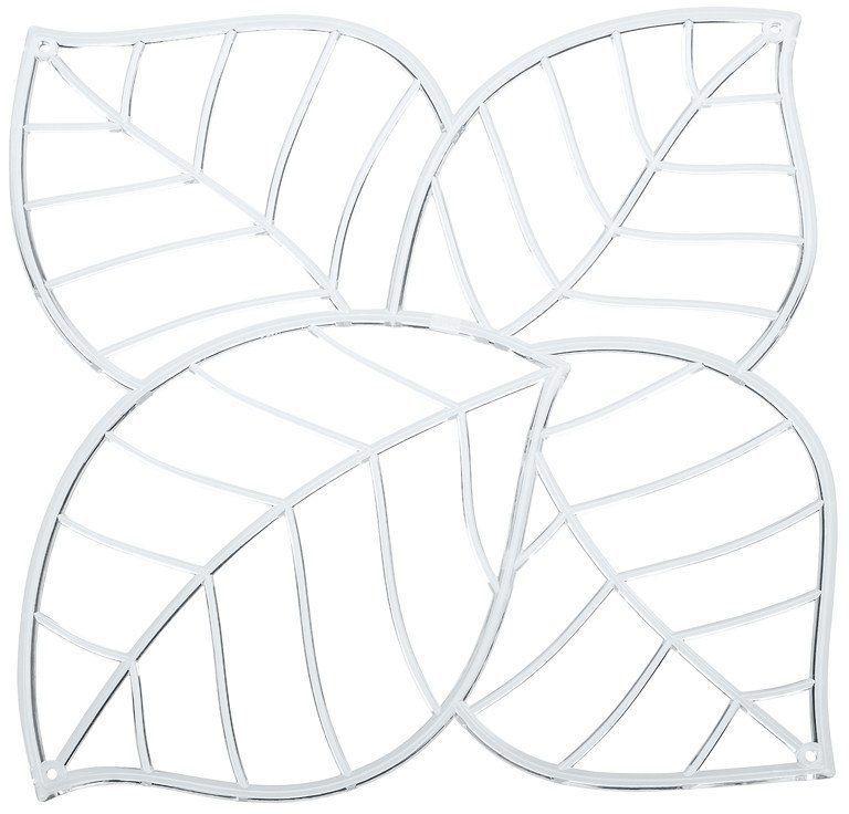 Koziol Panel dekoracyjny Leaf transparentny 4 szt. (KZ-2043535) 1