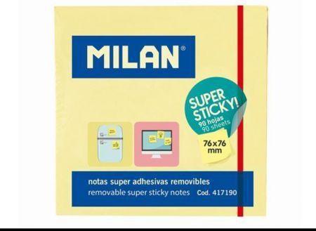 Milan Karteczki samoprzylepne Super Sticky (230109) 1