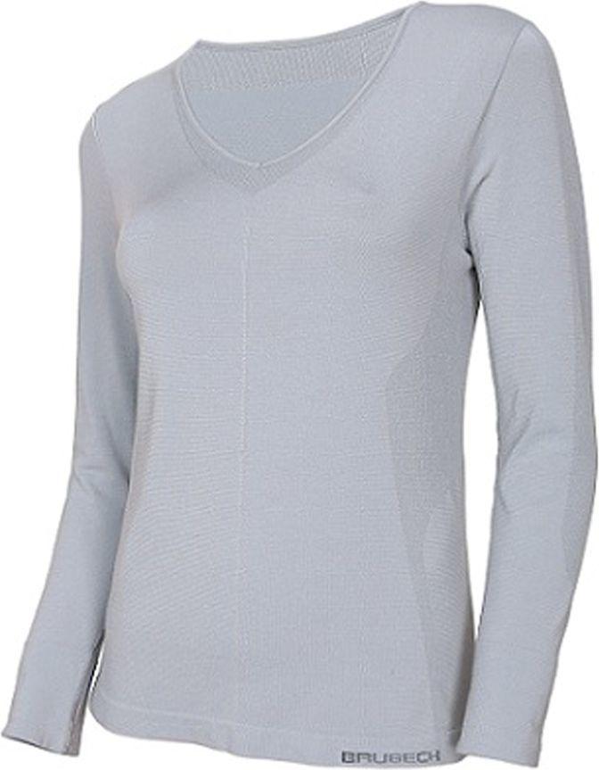 Brubeck Koszulka damska z długim rękawem COMFORT NIGHT r.L szara (LS12910) 1
