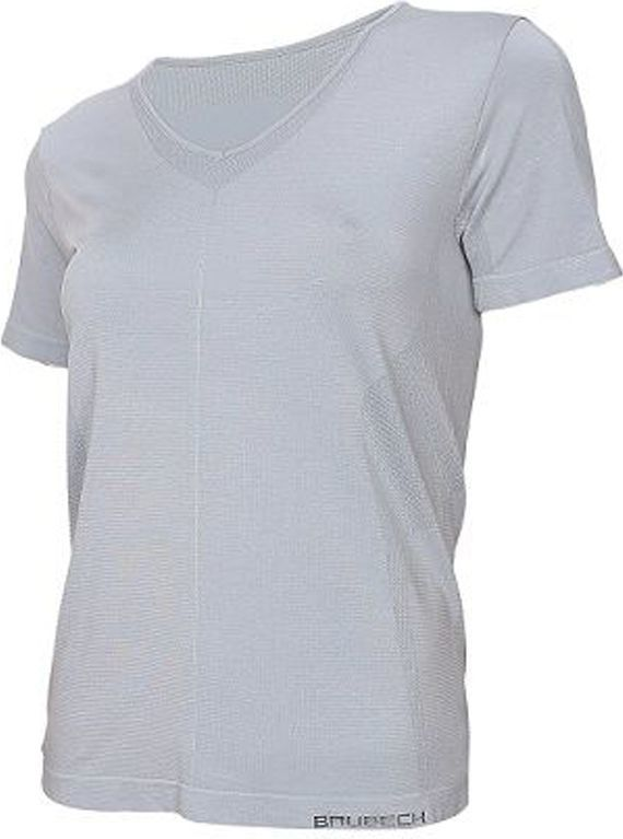 Brubeck Koszulka damska z krótkim rękawem Comfort Night szara r. M (SS11790) 1
