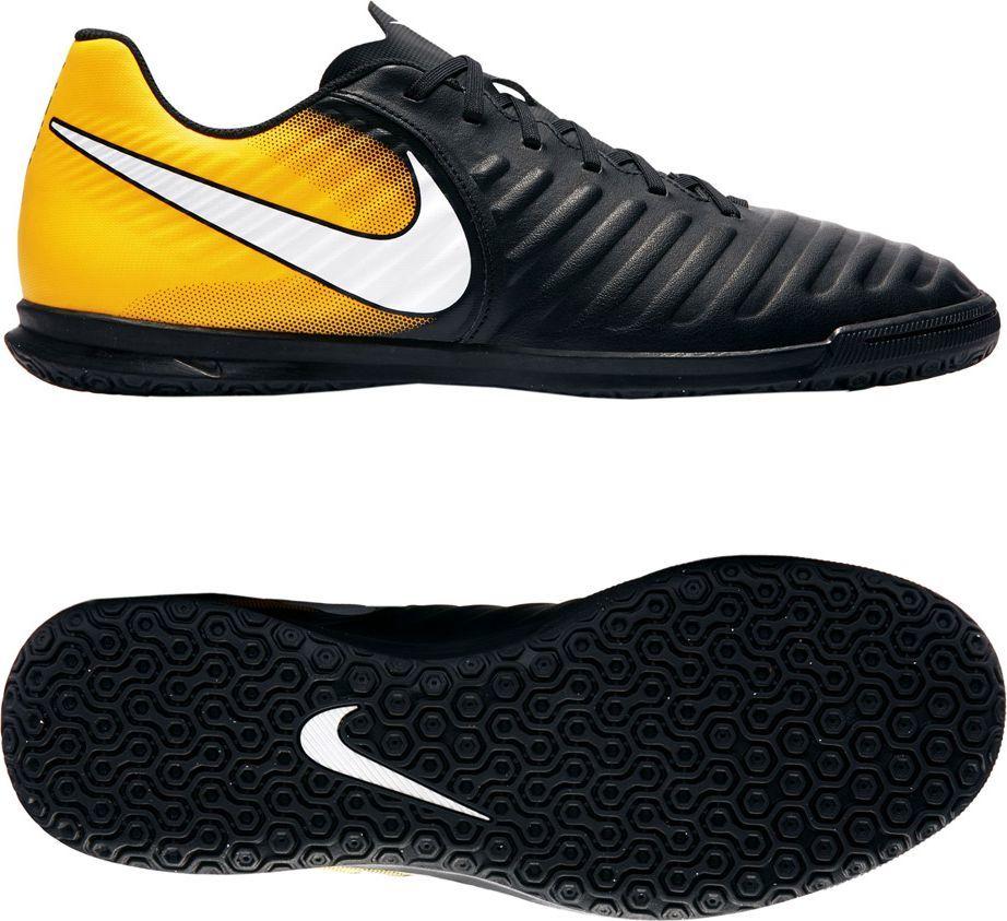 e7fa4219ef5ea Nike TIEMPO X RIO IV IC (897769) - Buty halowe; r. 43 kolor czarno- pomarańczowy (14297) w Sklep-presto.pl