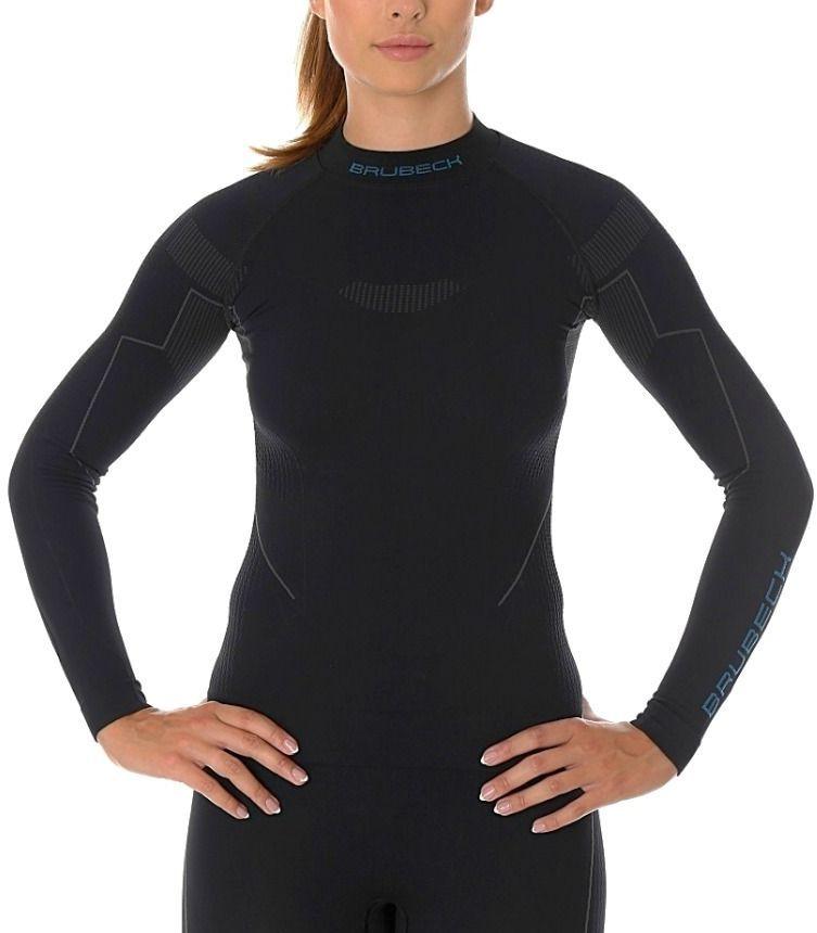 Brubeck Bluza termoaktywna damska Thermo czarna r. S (LS13100) 1